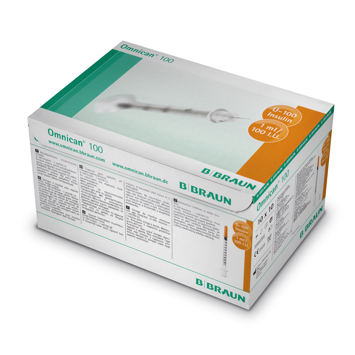 OMNICAN 100 1ml INSULIN 30Gx12 U100 (9151141)