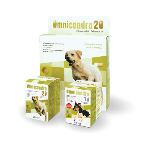 OMNICONDRO Perro 20kg - 60 Comprimidos