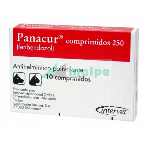 PANACUR 250 MGS  10 COMPRIMIDOS