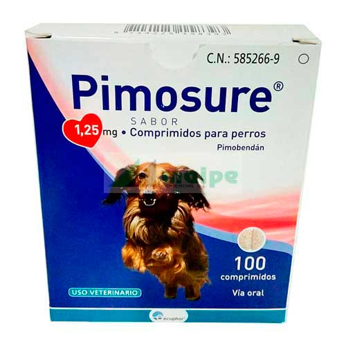 Pimosure 1.25mg (100 Comprimidos)