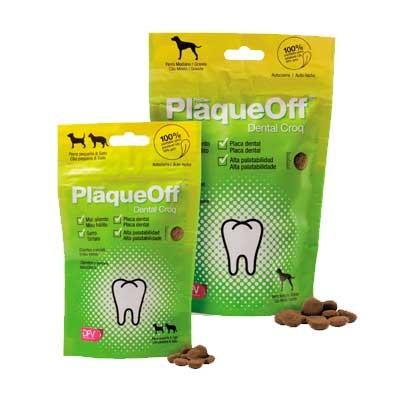 PlaqueOff Dental Croq 150g PERRO +10kg
