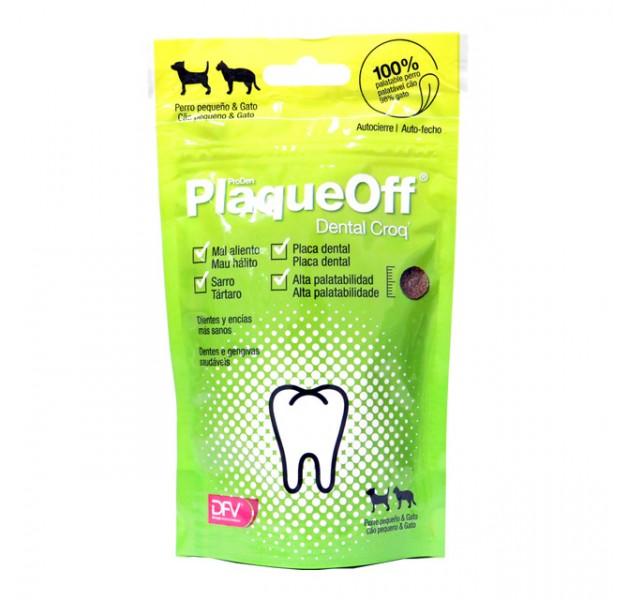 PlaqueOff Dental Croq 60g GATO/PERRO -10kg