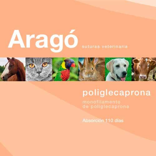 POLIGLECAPRONA 3/0 AG CIL 1/2 26 MM C16 70 (47010)