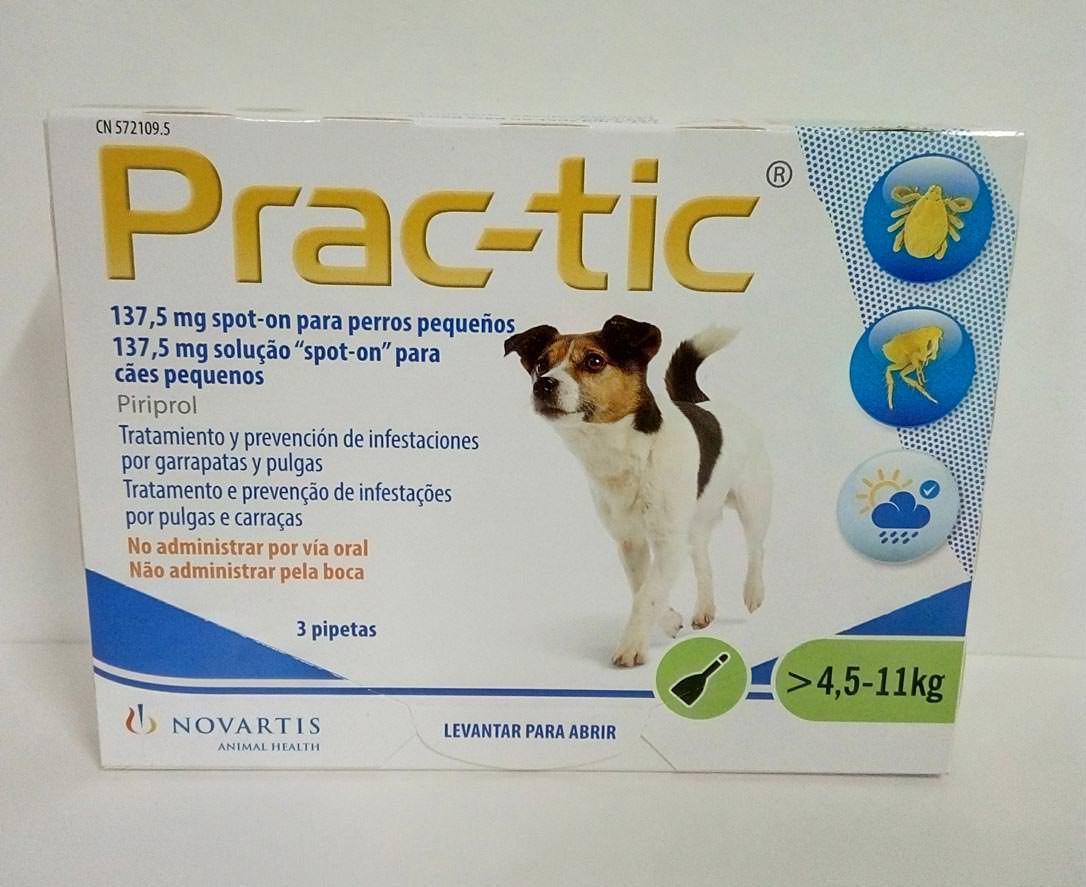 PRACTIC Perro 4.5-11kg  (3 Pipetas)