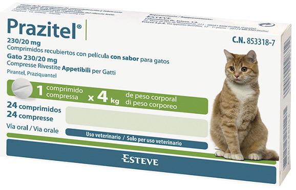 Prazitel GATOS 24 Comprimidos