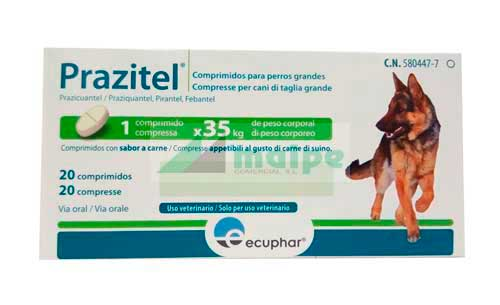 Prazitel XL 20 Comprimidos