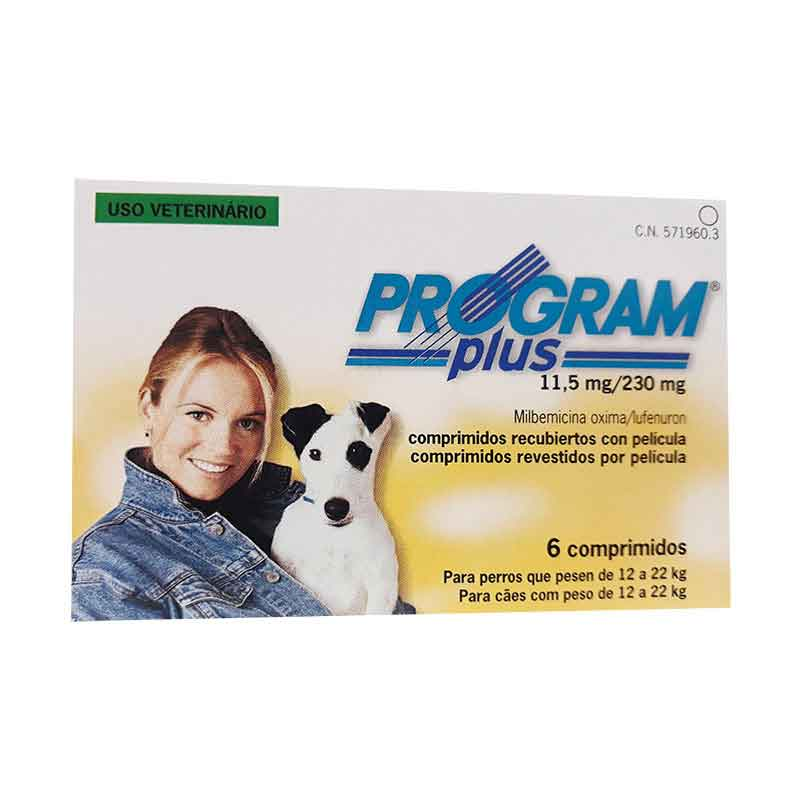 PROGRAM plus 11.5mg - 6 Comprimidos (amarillo)