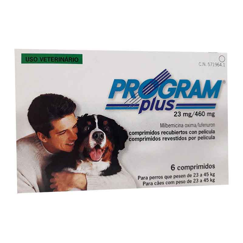 PROGRAM plus 23mg - 6 Comprimidos (gris)