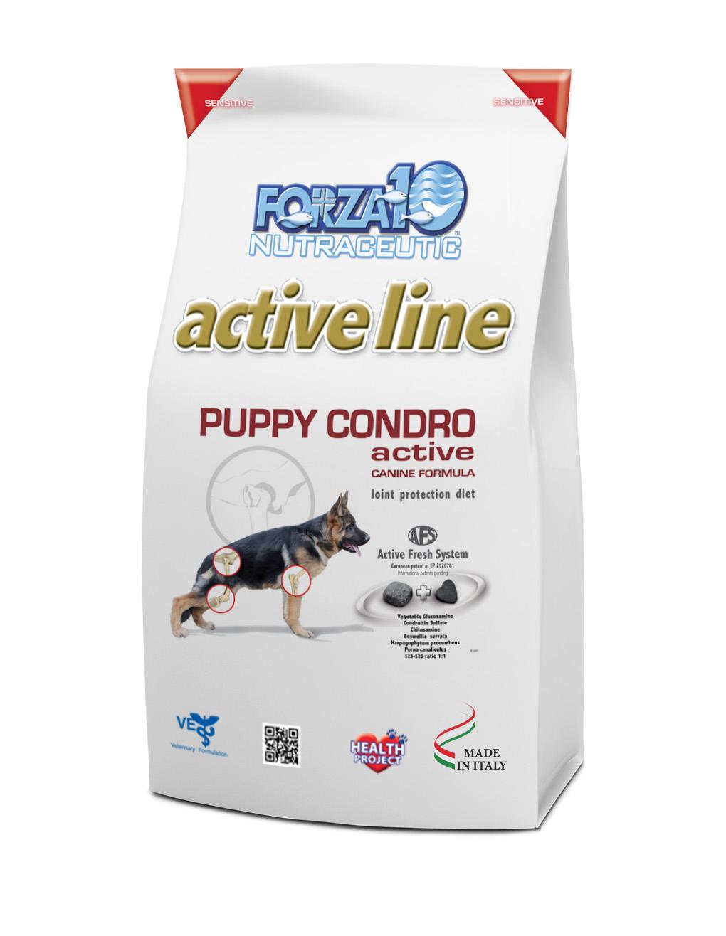 FORZA10 PUPPY CONDRO active 4kg
