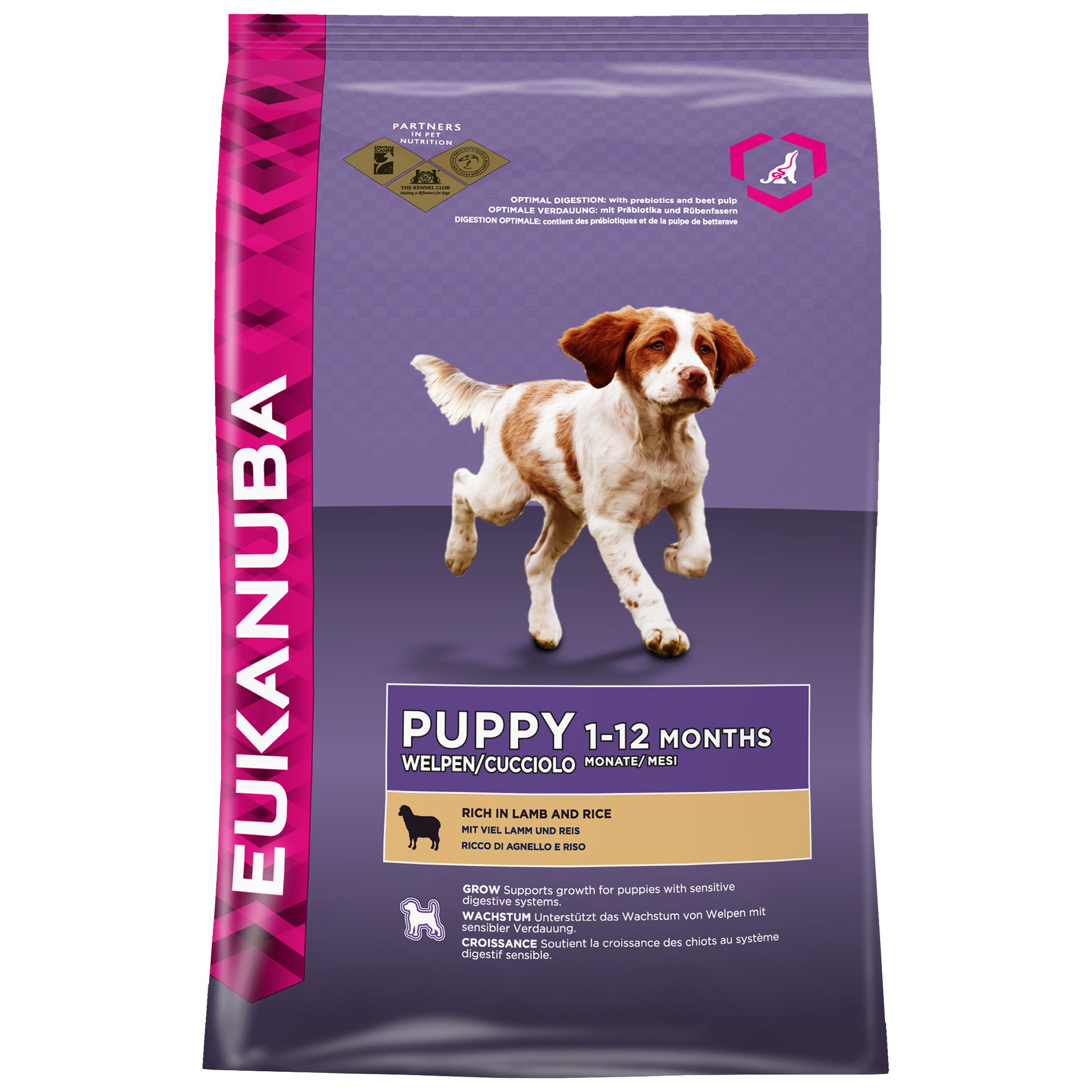 PUPPY & JUNIOR CORDERO Y ARROZ 12kg