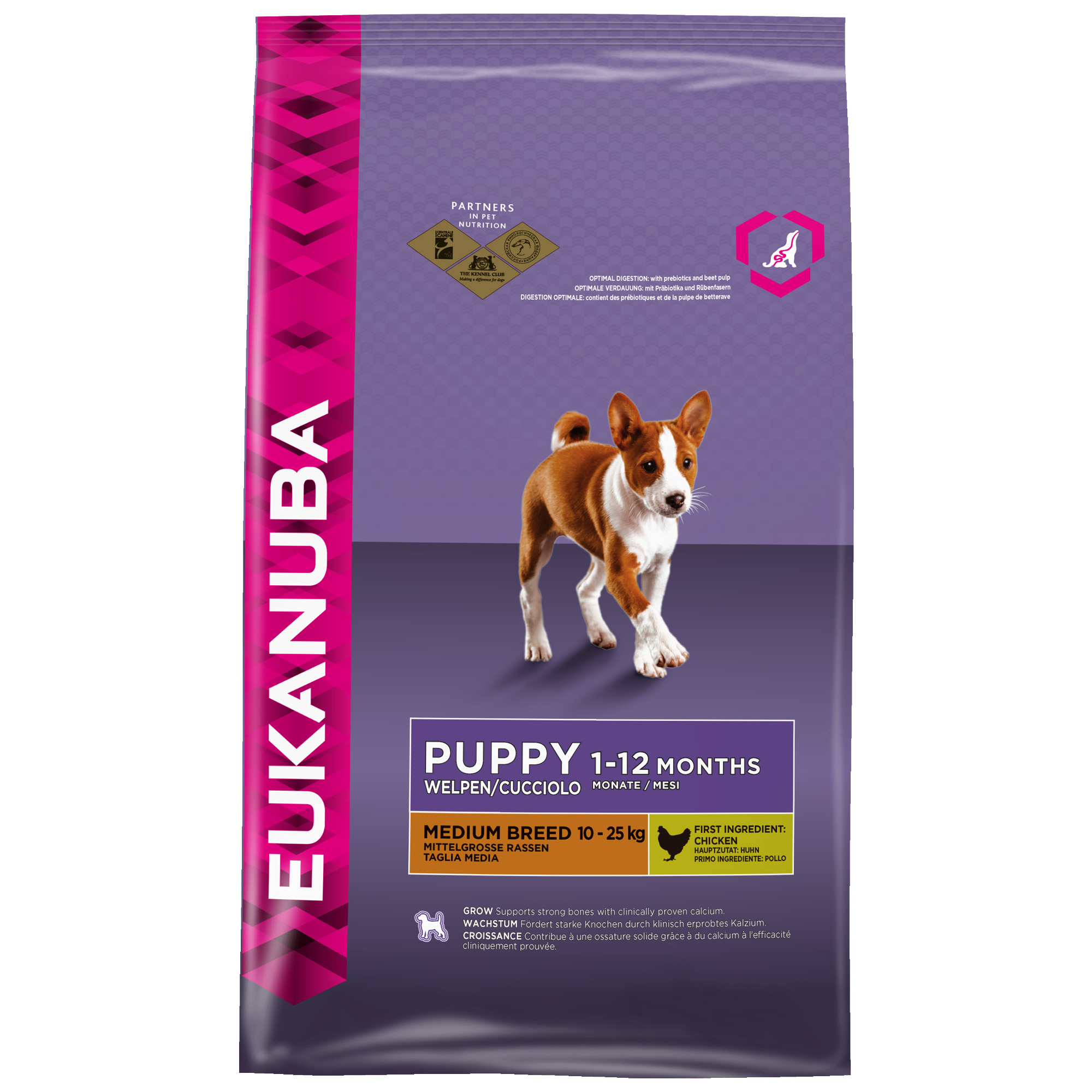 PUPPY & JUNIOR RAZA MEDIANA 1kg