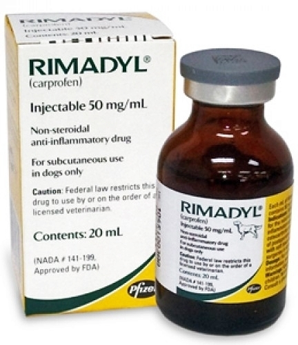 RIMADYL INYECTABLE 20ml