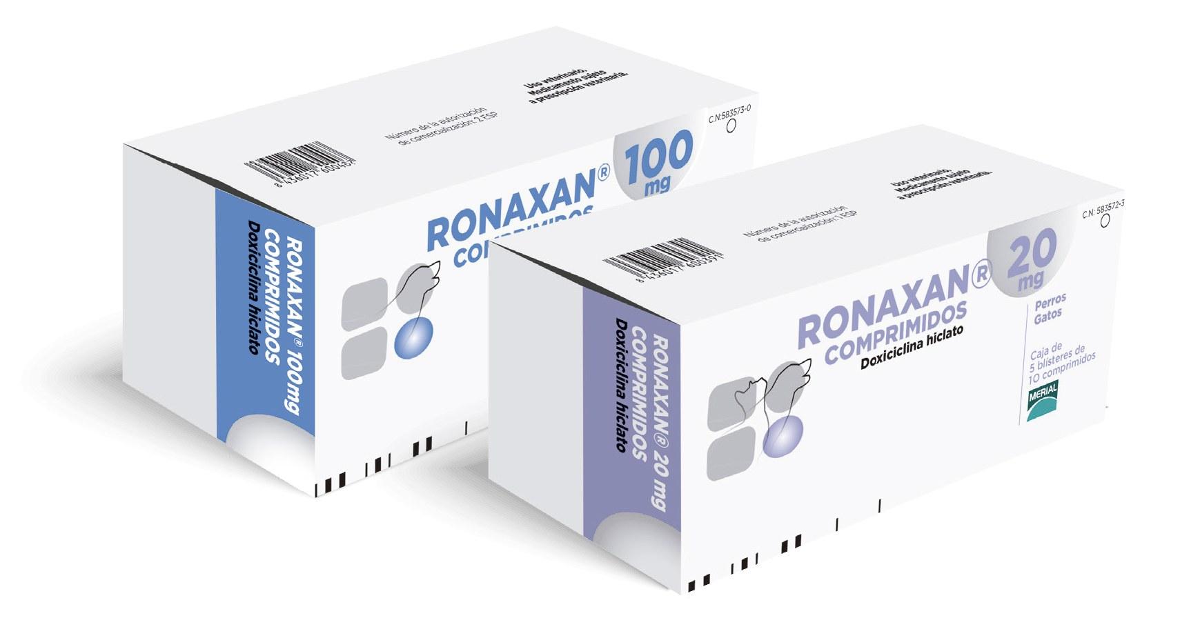 RONAXAN 100 MG 50 COMP.