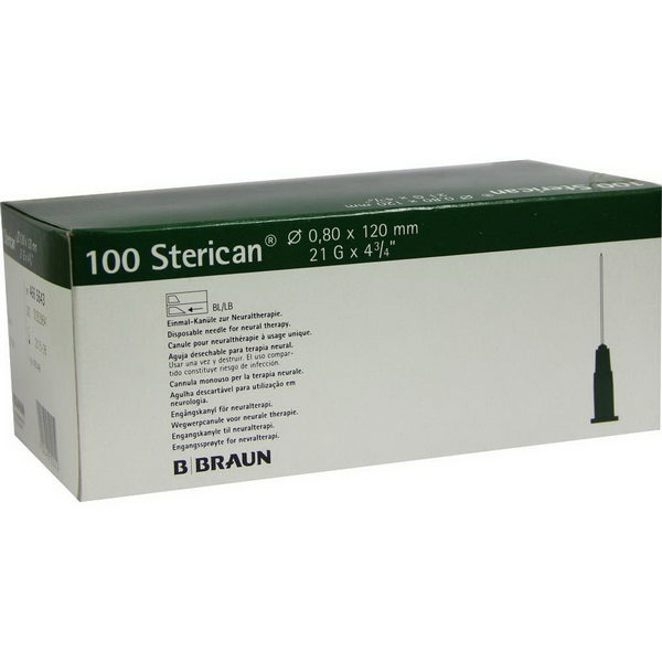 STERICAN 21Gx4 3/4 - 0.80x120mm (4665643)