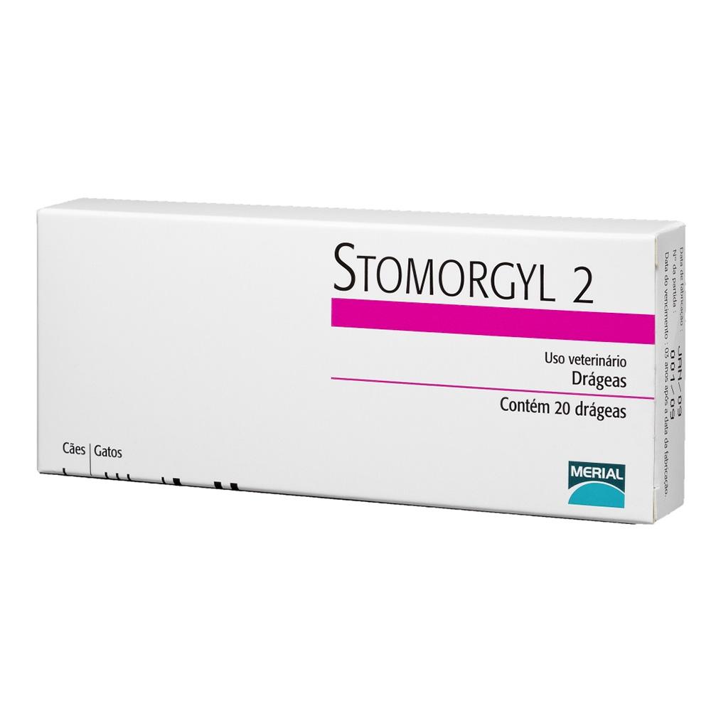 STOMORGYL-2 20 COMP.