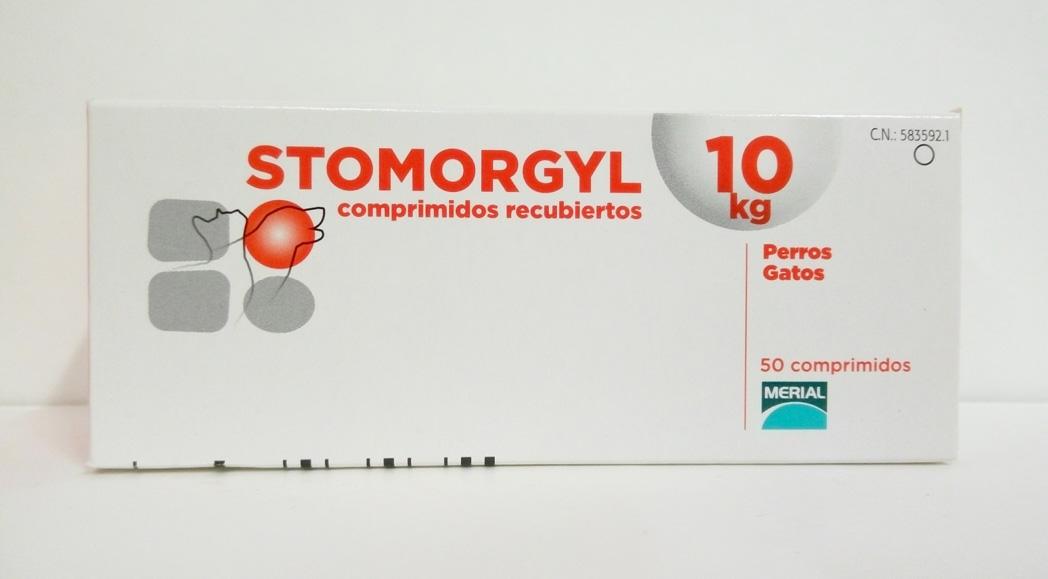 STOMORGYL 10 - 50 Comprimidos