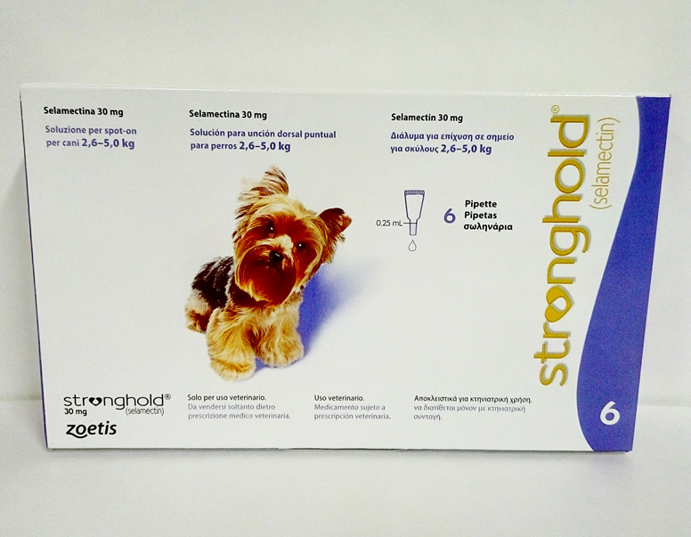 STRONGHOLD PERROS 30mg 6 Pipetas