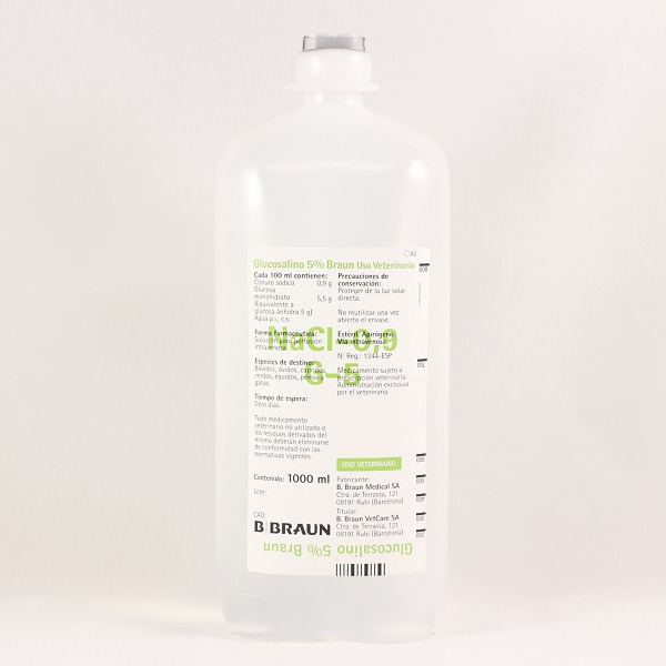 SUERO GLUCOSALINO 5% 1000ml (472785)