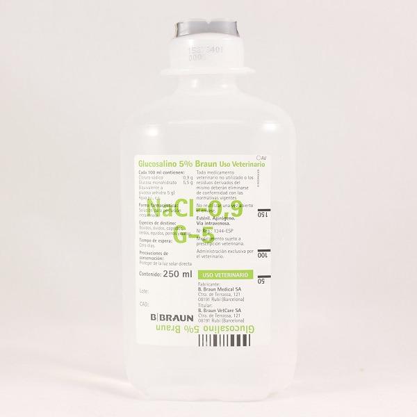 Suero GLUCOSALINO 5% 250ml (410153)