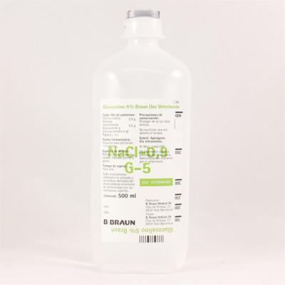 Suero GLUCOSALINO 5% 500ml (410154)