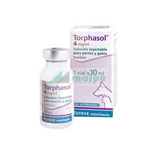 Torphasol 4 mg/ml Solución Inyectable 10ml