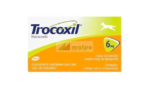 TROCOXIL 6mg (2 Comprmidos) - Naranja