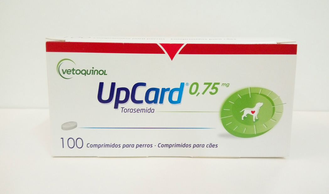 UPCARD 0.75mg 100 Comprimidos