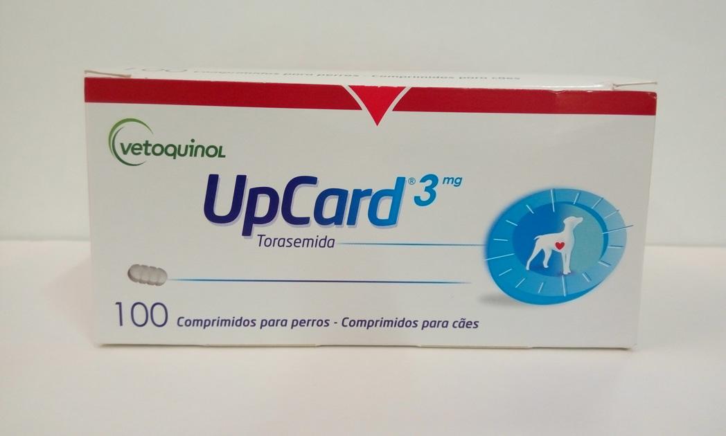 UPCARD 3mg 100 Comprimidos