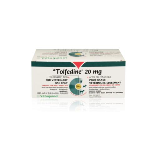 TOLFEDINE 20 MG 96 COMPRIMIDOS