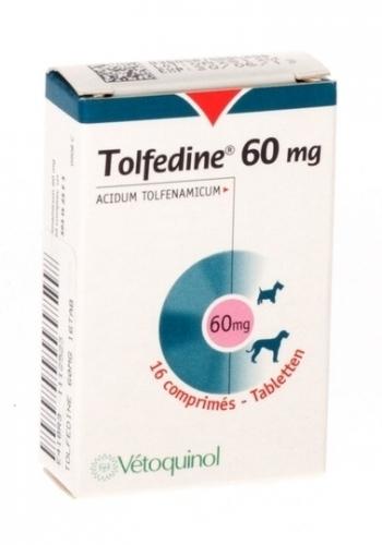 TOLFEDINE 60 MGS  16 COMPRIMIDOS