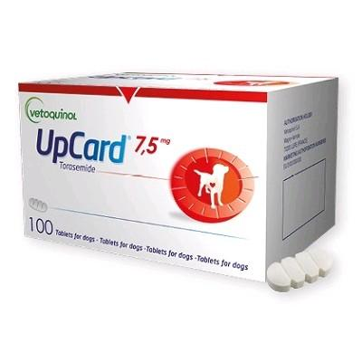 UPCARD 7.5 MG 100 COMP