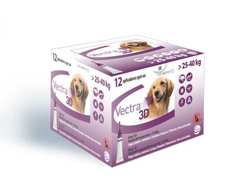 VECTRA 3D PERRO L (25-40 KG) 12 PIP