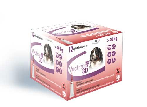VECTRA 3D PERRO XL (>40 KG) 12 PIP