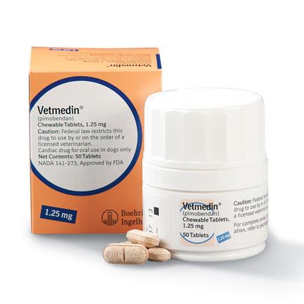Vetmedin 1.25mg (50 Comprimidos)