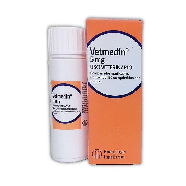 Vetmedin 5mg (50 Comprimidos)