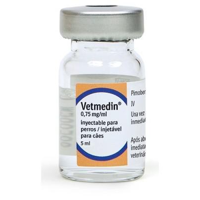 Vetmedin Solución inyectable 0.75mg - 5ml