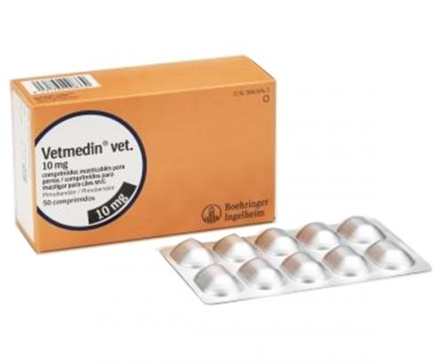 Vetmedin Vet 10mg (50 Comprimidos)
