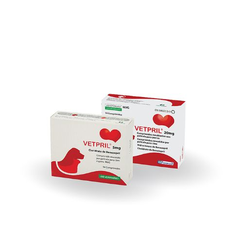 VETPRIL 20mg - 14 Comprimidos