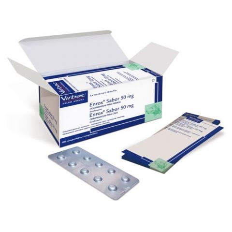 ENROX SABOR 50mg - 100 comprimidos