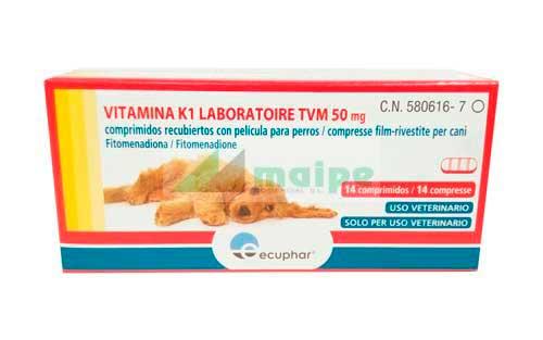 VITAMINA K 14 Comprimidos