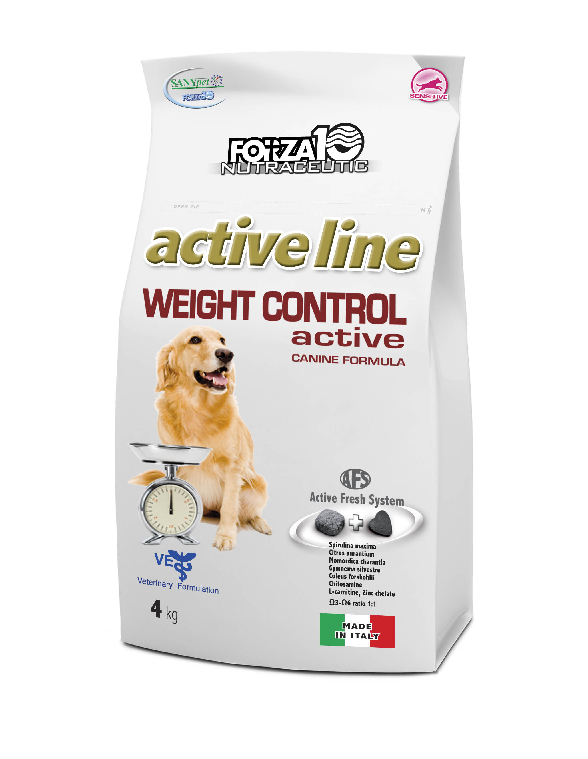 FORZA10 PERRO WEIGHT CONTROL active 4kg