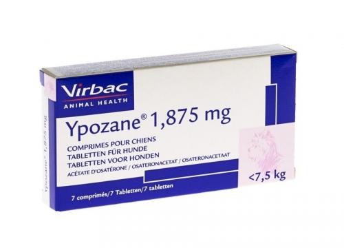 YPOZANE 1.875mg (3 a 7.5kg) - 7 comprimidos