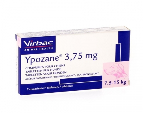YPOZANE 3.75mg (7.5 a 15kg) - 7 comprimidos