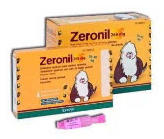 Zeronil 268mg 20-40kg PERRO GRANDE 30 Pipetas