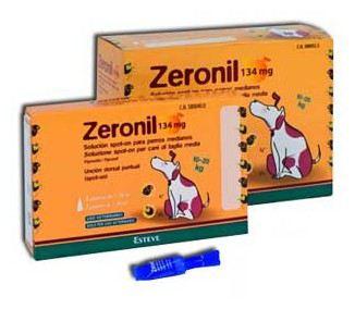 Zeronil 268mg 20-40kg PERRO MEDIANO 30 Pipetas