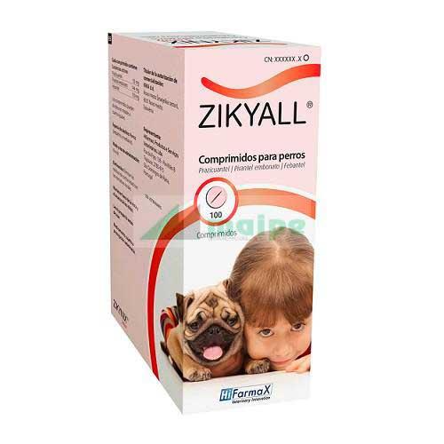 ZIKYALL SABOR 100 Comprimidos
