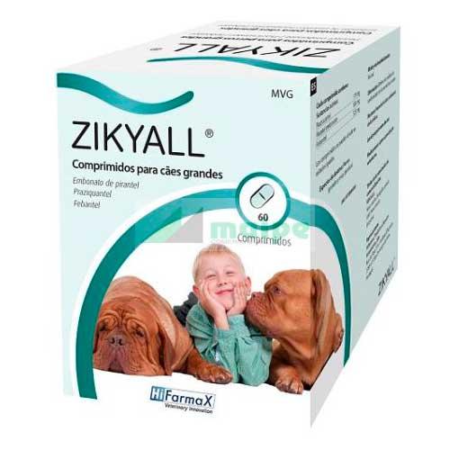 ZIKYALL XL 60 Comprimidos