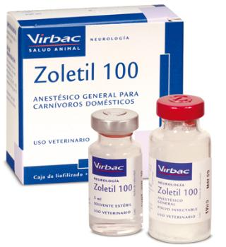 ZOLETIL 100 1 FRASCO+ 5 ML. DISOLV.