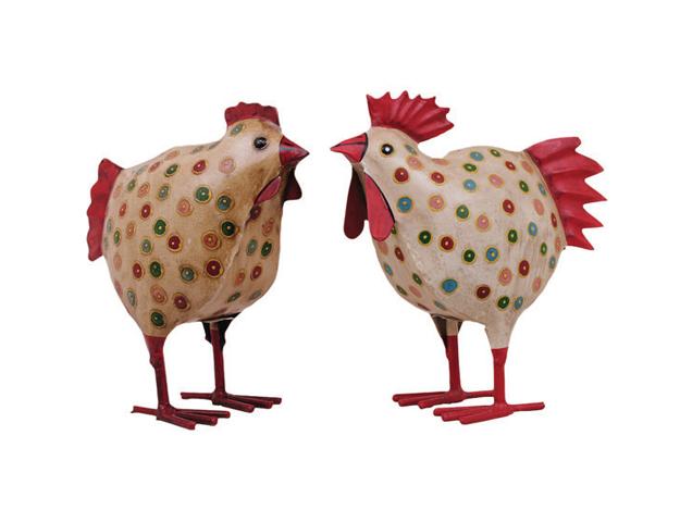 Coq et poule bergamote