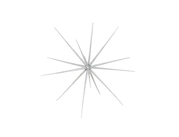 Estrella 3D plata